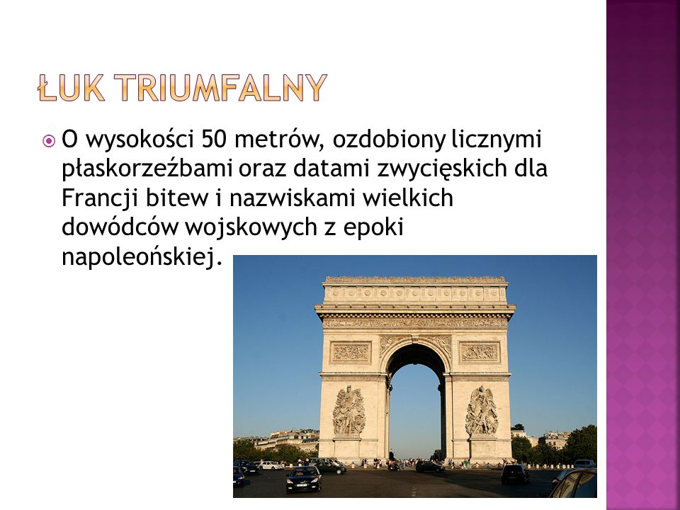 Wzniesiona pod koniec XIX wieku dla uczczenia 100 letniej rocznicy Rewolucji Francuskiej osiągnęła wysokość 319 metrów.