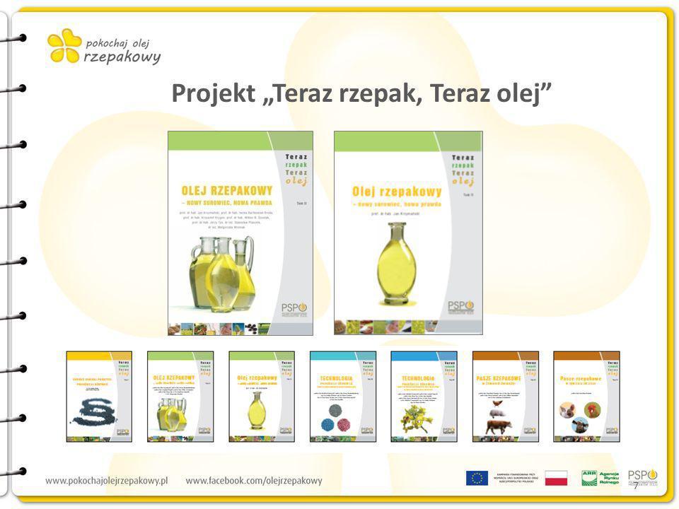 7 Projekt Teraz rzepak, Teraz olej
