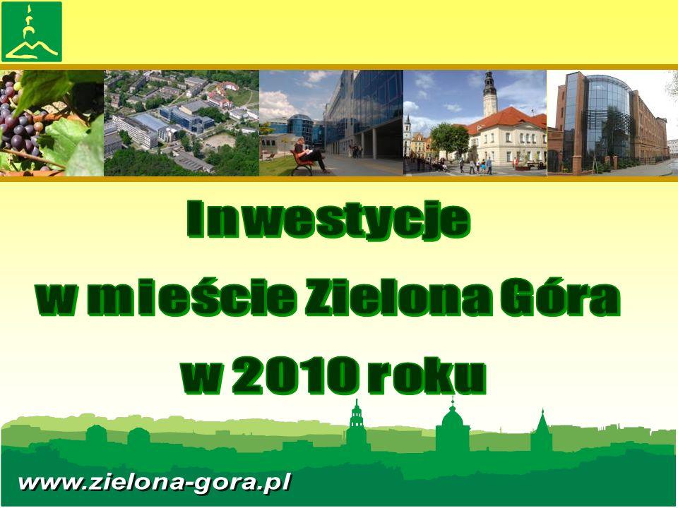 DOCHODY I WYDATKI BUDŻETU MIASTA ZIELONA GÓRA (na dzień 31 grudnia 2010)