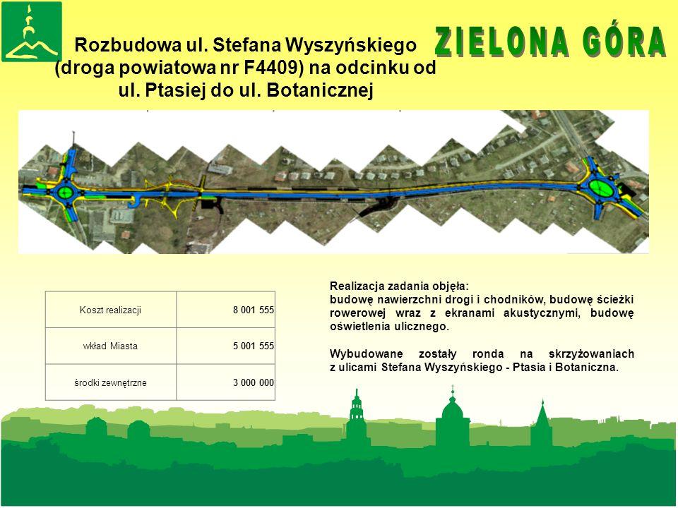 Rozbudowa ul.Stefana Wyszyńskiego (droga powiatowa nr F4409) na odcinku od ul.