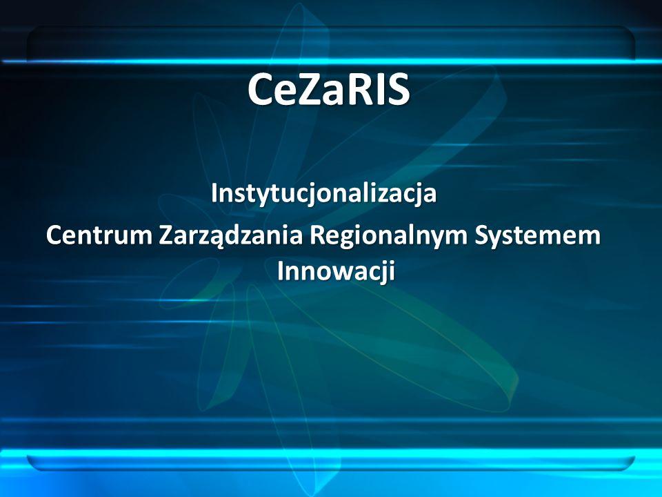 CeZaRIS Instytucjonalizacja Centrum Zarządzania Regionalnym Systemem Innowacji