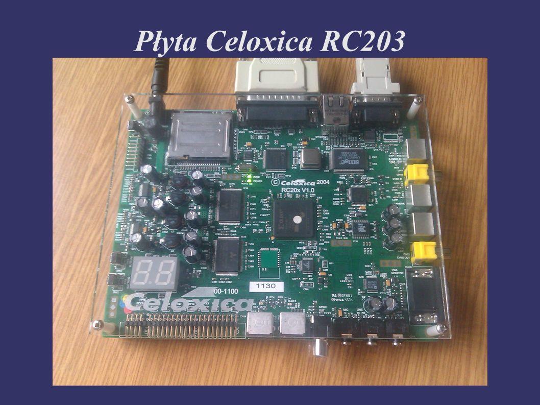 Płyta Celoxica RC203