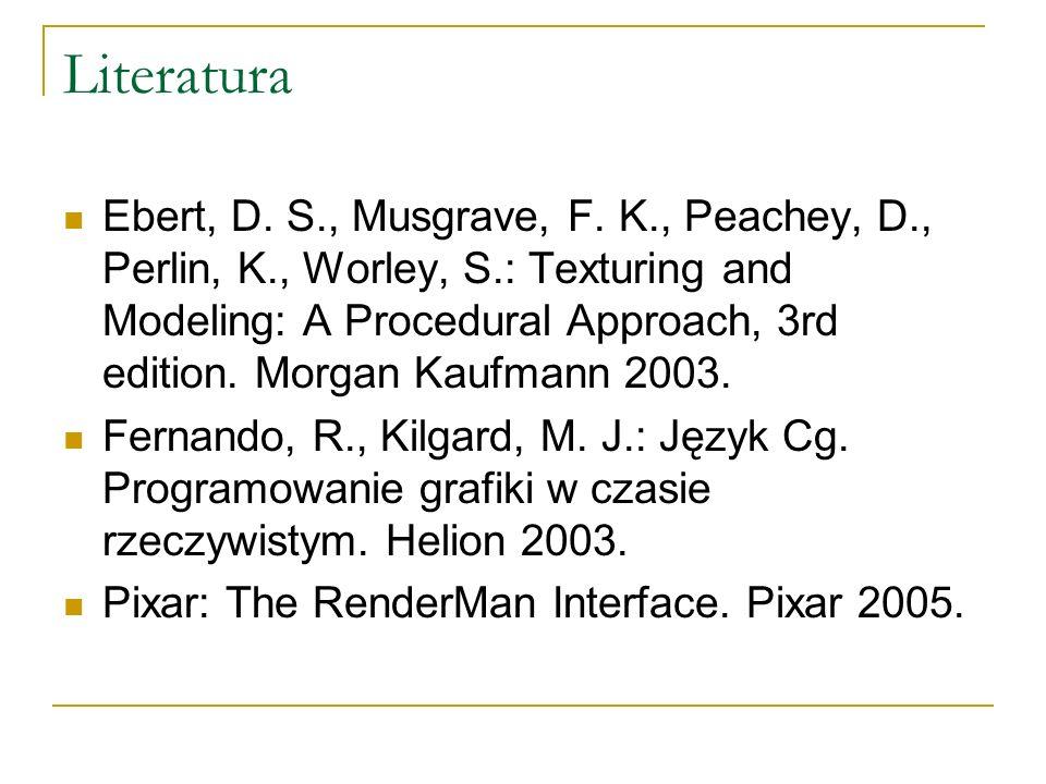 Literatura Ebert, D. S., Musgrave, F.