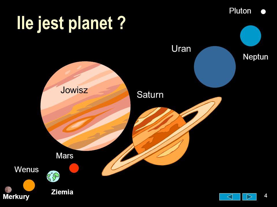 3 Jak zbudowany jest układ słoneczny ? Wokół niej krążą po orbitach planety. Każda planeta ma inną orbitę. planeta orbita słońce Słońce jest ogromną g
