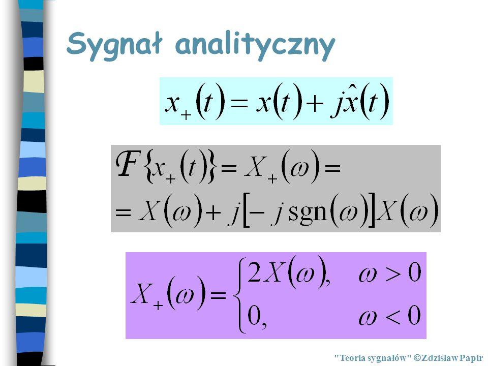 Sygnał analityczny