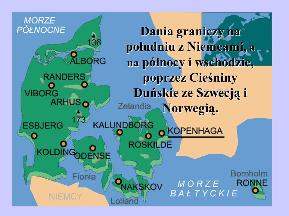 W skład Królestwa Danii wchodzą także terytoria autonomiczne: GRENLANDIA WYSPY OWCZE