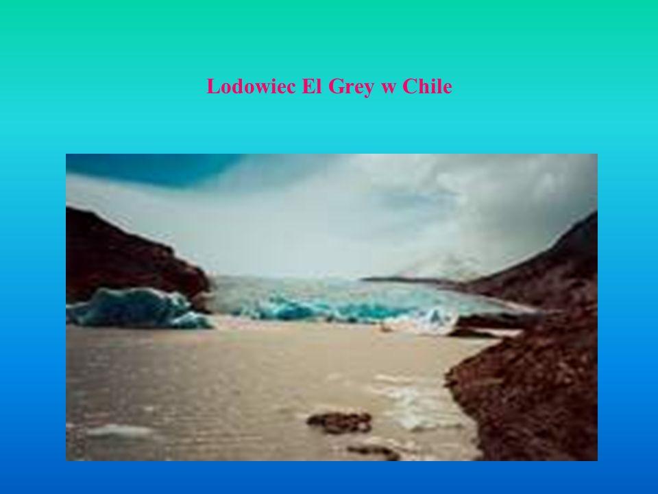 Lodowiec El Grey w Chile