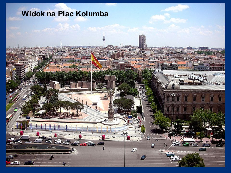 Widok na Plac Kolumba