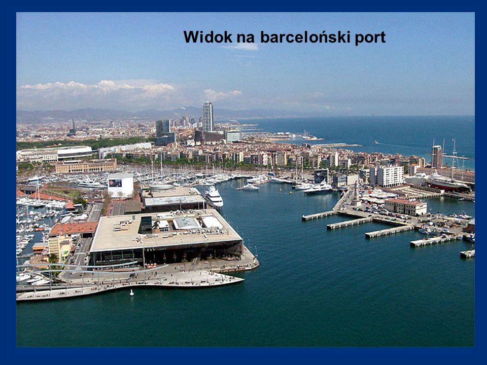 Widok na barceloński port