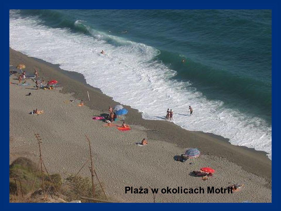 Plaża w okolicach Motril