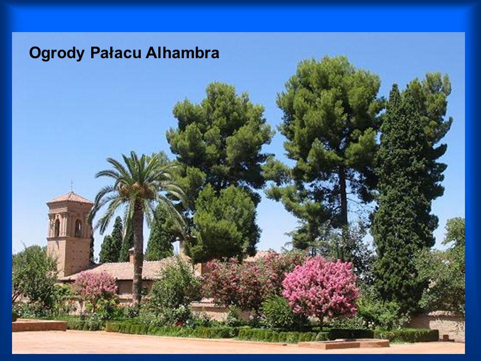 Ogrody Pałacu Alhambra