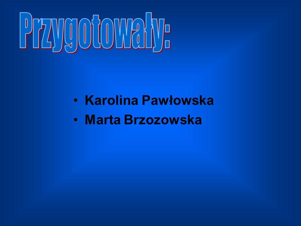 Karolina Pawłowska Marta Brzozowska