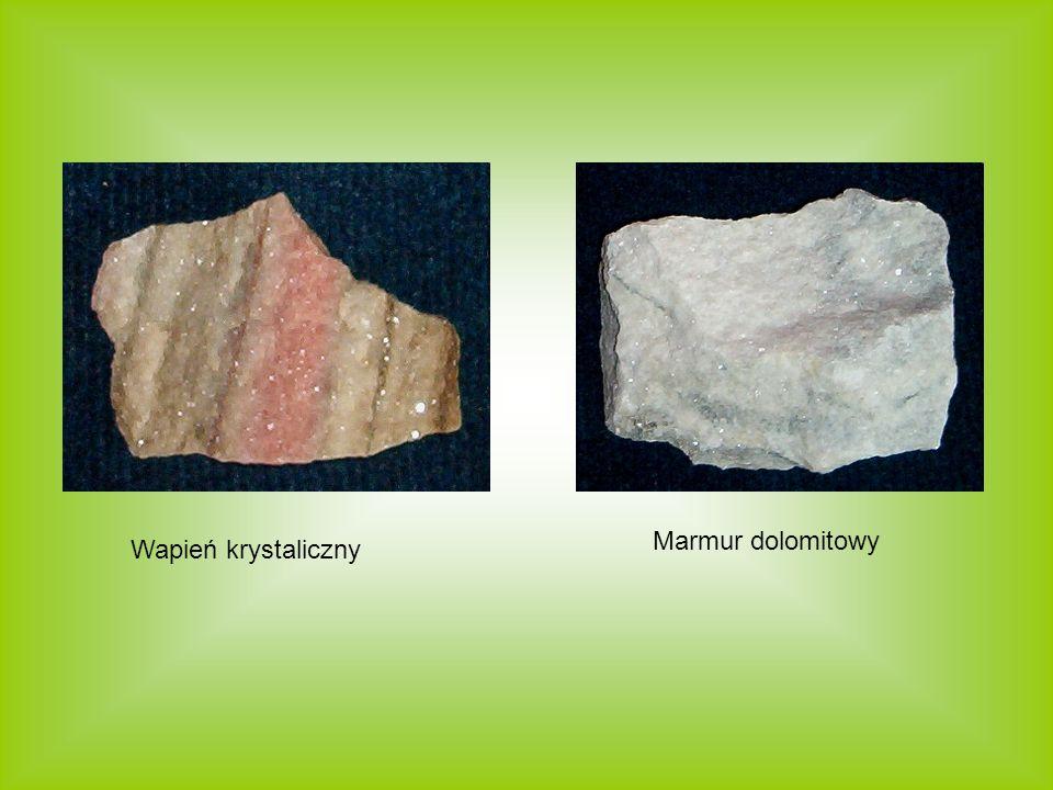 Wapień krystaliczny Marmur dolomitowy