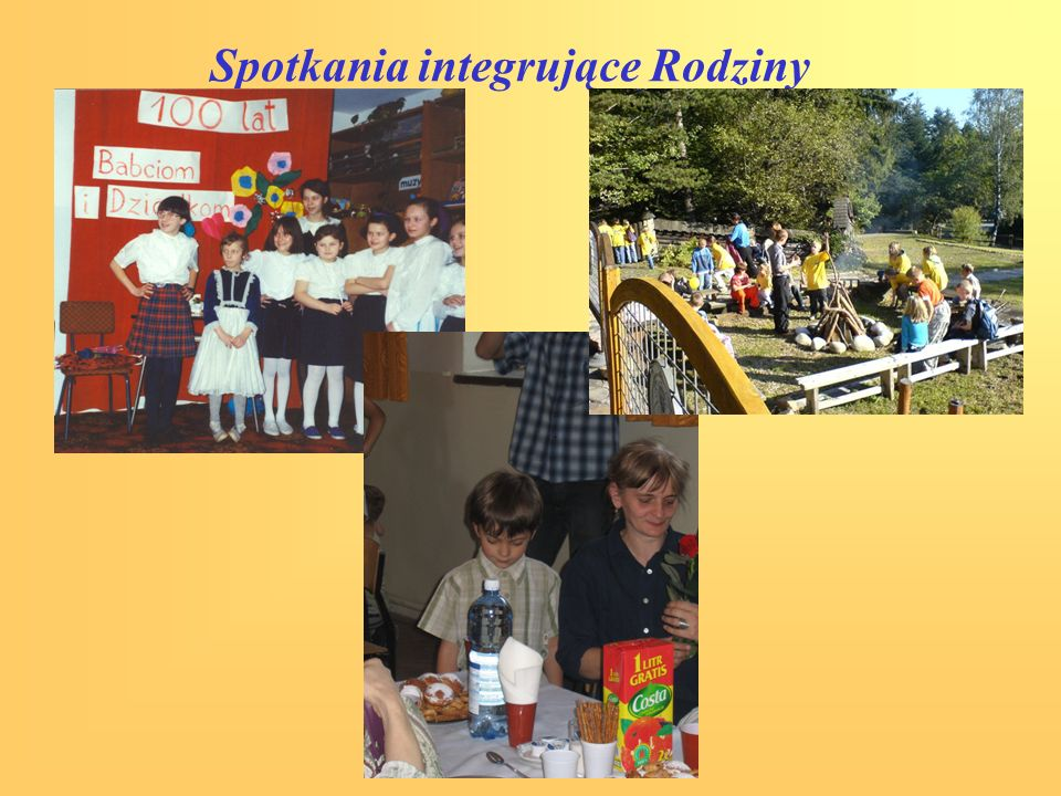 Spotkania integrujące Rodziny