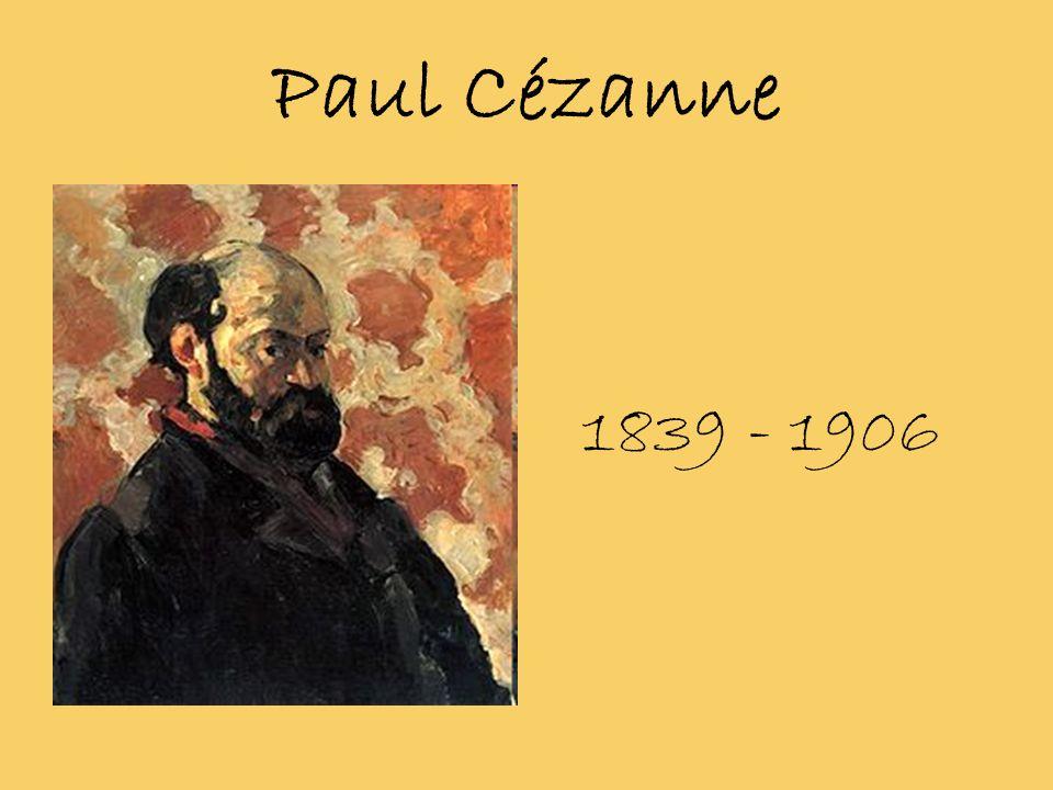 Biografia… Paul Cézanne urodził sie 19 stycznia 1839 w małym miasteczku Aix-en-Provence.