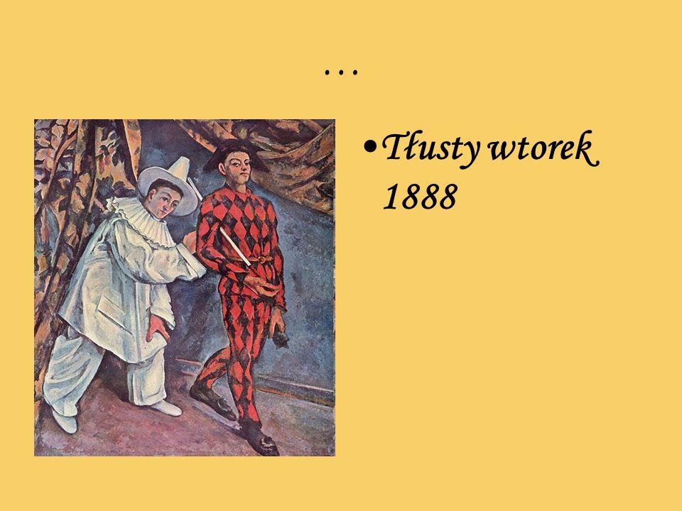 … Tłusty wtorek 1888