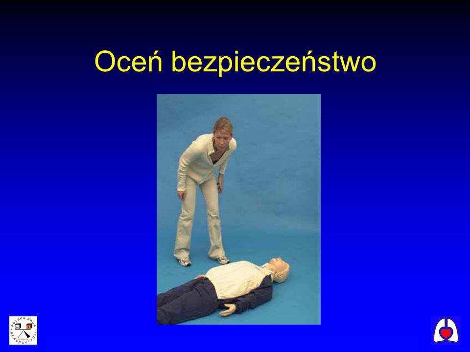 Każdy oddech powinien być wykonywany przez 1 sek.