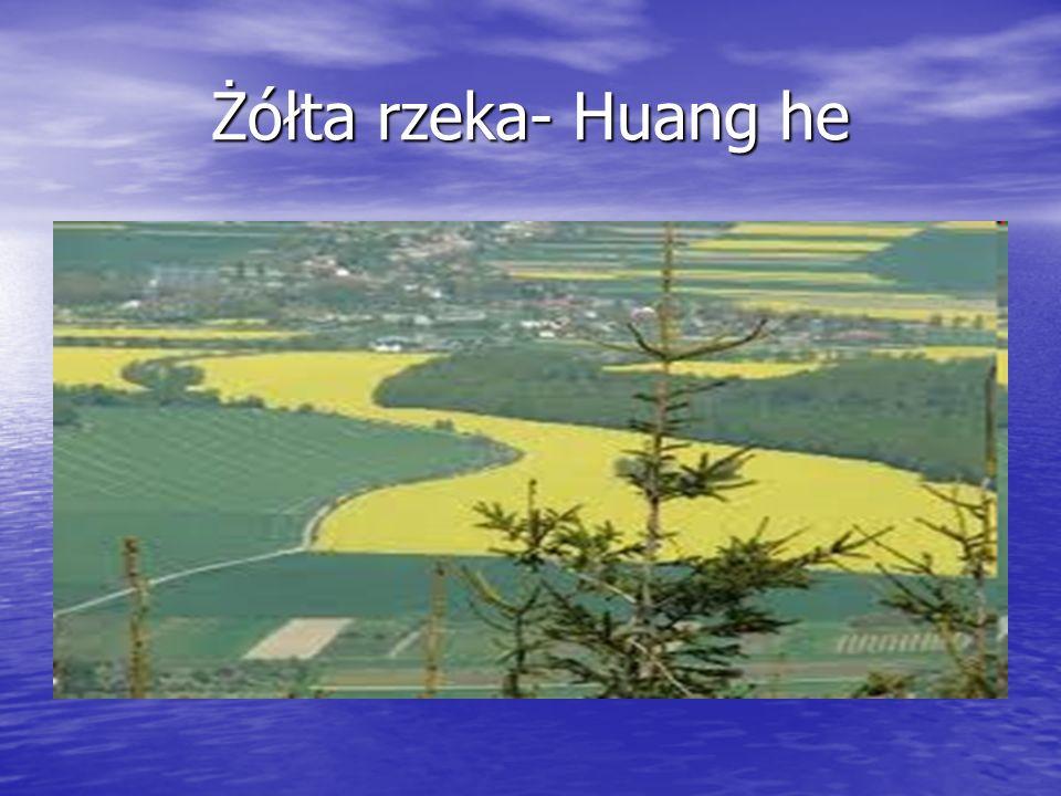 Żółta rzeka- Huang he