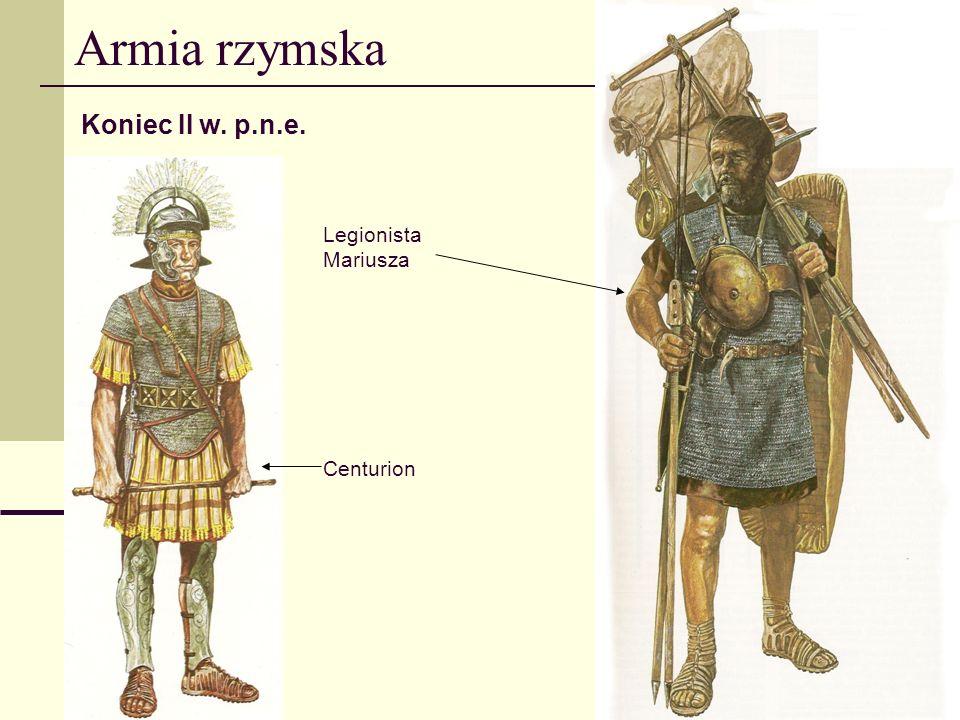 Armia rzymska III w. p.n.e. triarius principes i hastati velites