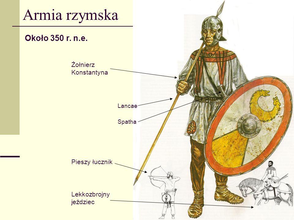 Armia rzymska Około 350 r.n.e.