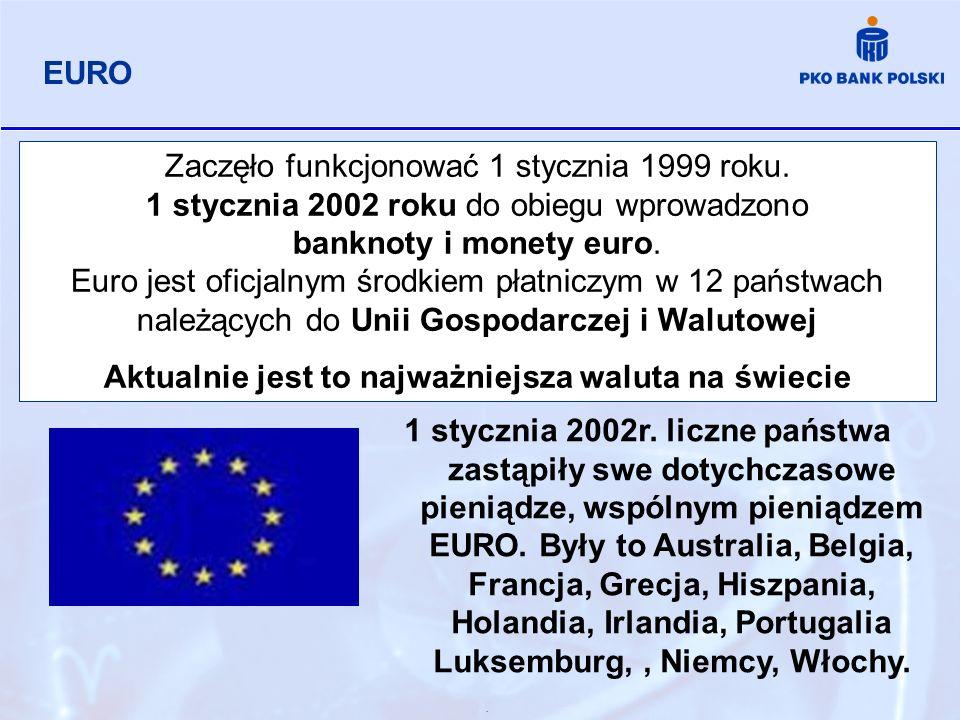 . Zaczęło funkcjonować 1 stycznia 1999 roku. 1 stycznia 2002 roku do obiegu wprowadzono banknoty i monety euro. Euro jest oficjalnym środkiem płatnicz