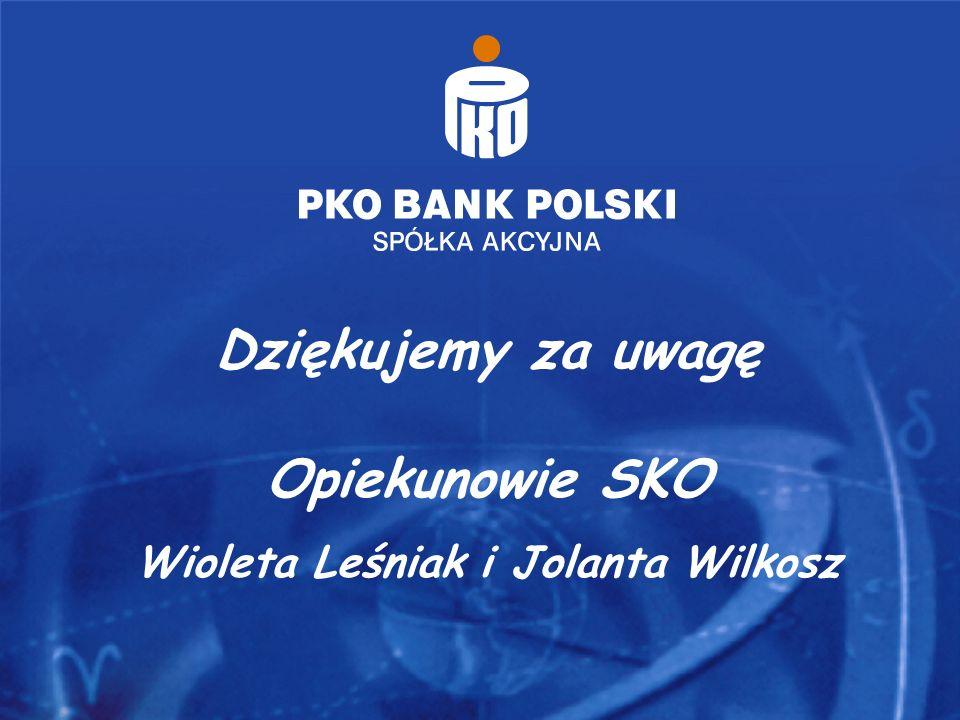 Dziękujemy za uwagę Opiekunowie SKO Wioleta Leśniak i Jolanta Wilkosz