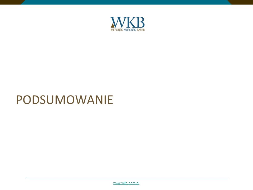 www.wkb.com.pl PODSUMOWANIE