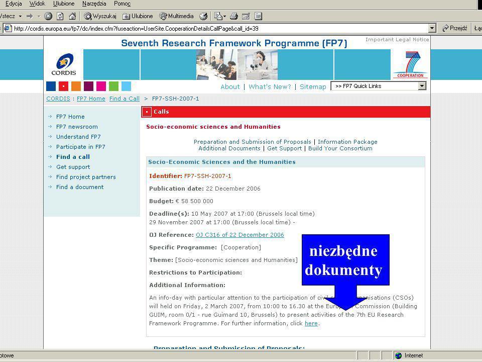 www.kpk.gov.pl niezbędne dokumenty