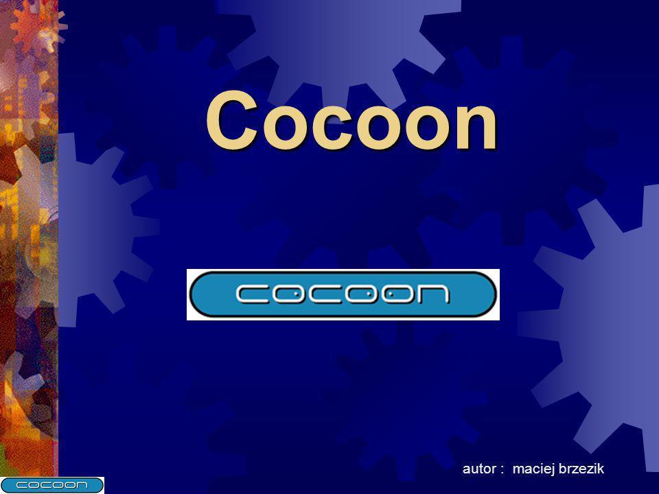 Cocoon autor : maciej brzezik