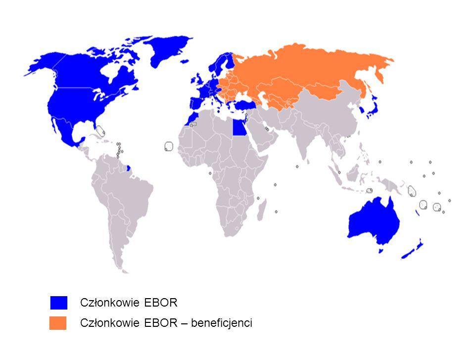 Członkowie EBOR Członkowie EBOR – beneficjenci