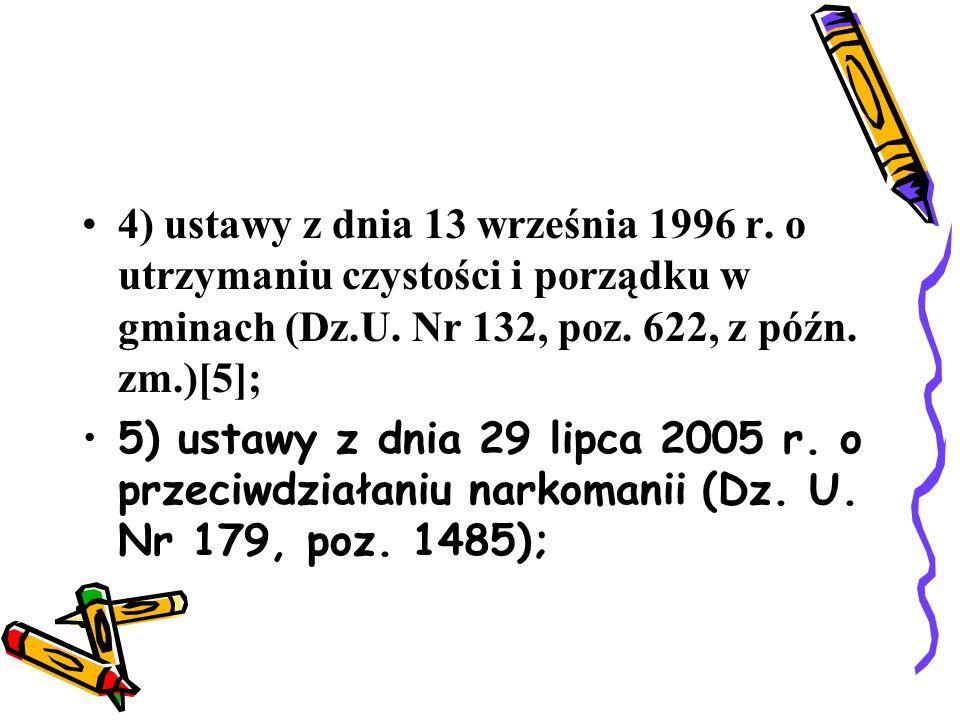6) ustawy z dnia 20 czerwca 1997 r.- Prawo o ruchu drogowym (Dz.U.
