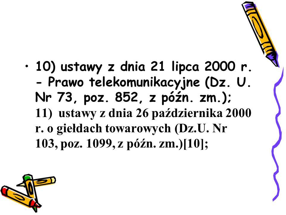 12) ustawy z dnia 27 kwietnia 2001 r.o odpadach (Dz.U.