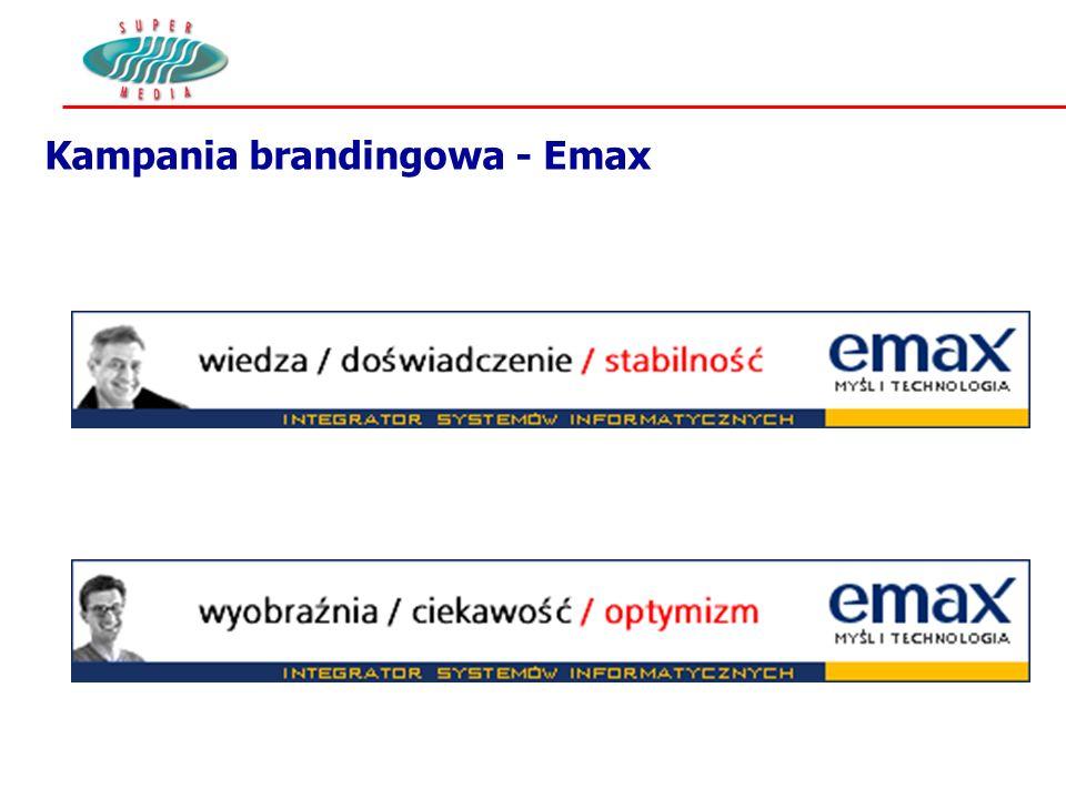 Kampania brandingowa - Emax