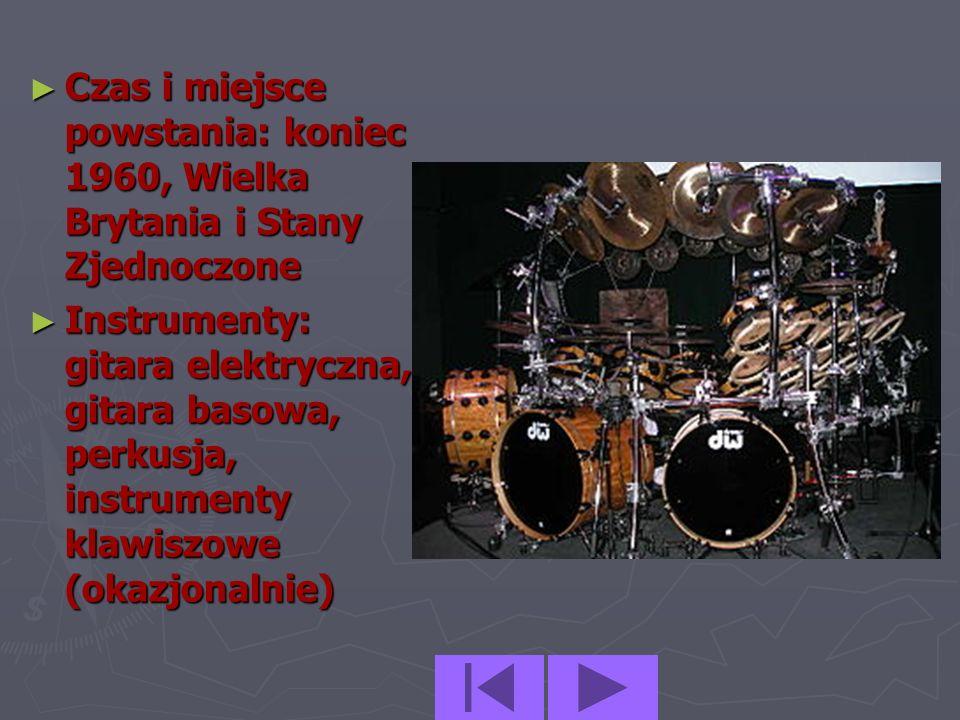 Heavy metal (często nazywany po prostu metal) jest podgatunkiem muzyki rockowej powstałym na przełomie lat 60tych i 70tych XX wieku, głównie w Wielkie