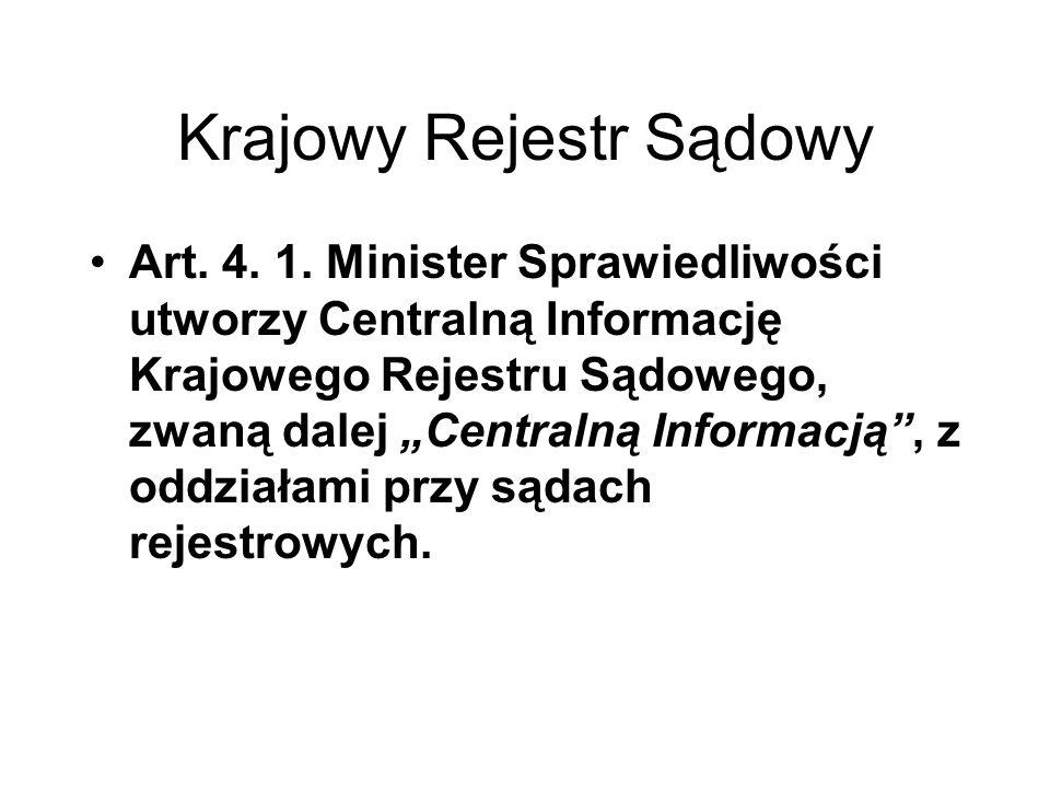 Reprezentacja - Spółka jawna Art.30. § 1.