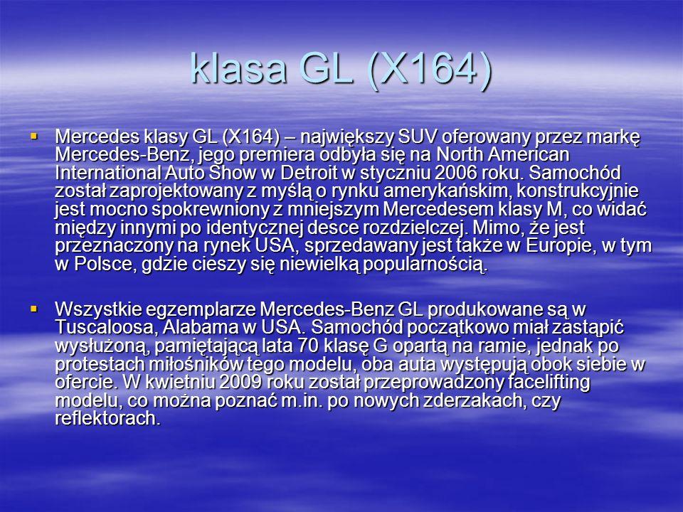 klasa GL (X164)