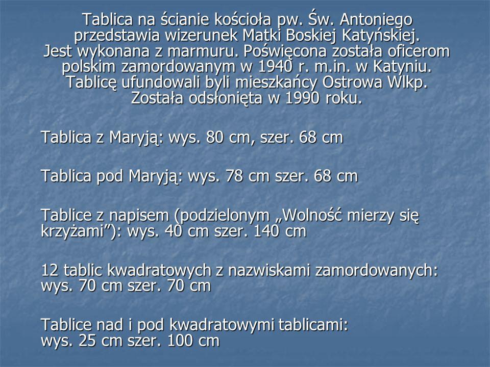 Tablica poświęcona Henrykowi Kowalówce ps. ZRĄB Plac 23 stycznia
