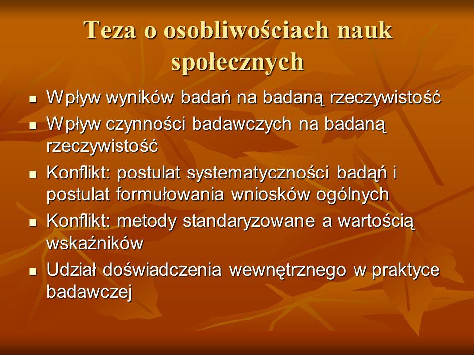 Podsumowanie Wielość socjologii.Wielość socjologii.