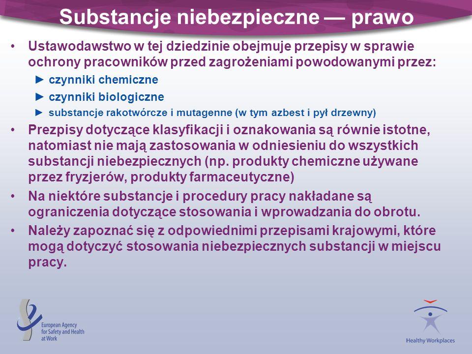Inne odpowienie przepisy REACH rozporządzenie Wspólnoty Europejskiej WE 1907/2006 tworzy nowy, jednolity system rejestracji, oceny i udzielania zezwoleń w zakresie chemikaliów (Registration, Evaluation and Authorisation of Chemicals): WE 1907/2006 ma na celu szerszą ochronę środowiska i zdrowia użytkowników zwiększa odpowiedzialność przemysłu za zarządzanie ryzykiem związanym z chemikaliami i za dostarczanie informacji na temat bezpieczeństwa substancji wszystkim tym, którzy produkują lub stosują daną substancję.