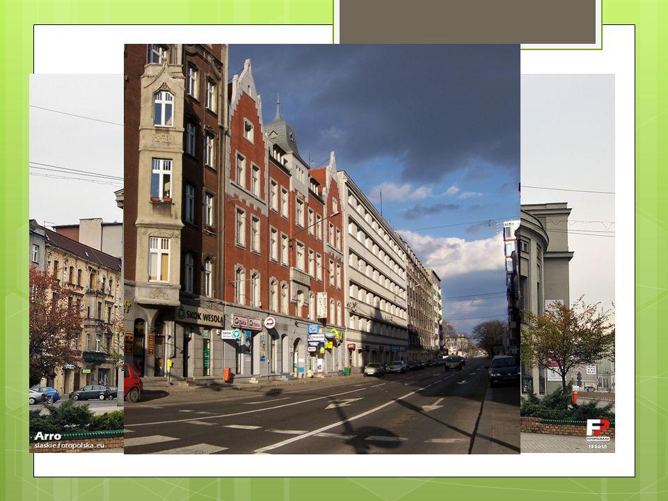 Główne miasta Katowice - ok. 308 tys. mieszkańców - ośrodek miejsko – przemysłowo - ośrodek naukowy