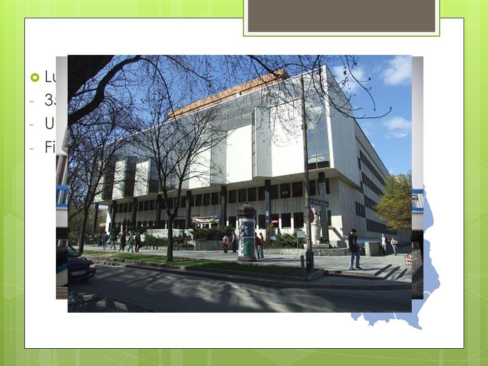 Główne miasta Lublin - 350 tys. Mieszkańców - Uniwersytet Marii Curie Skłodowskiej - Filharmonia i liczne rozgłośnie radiowe