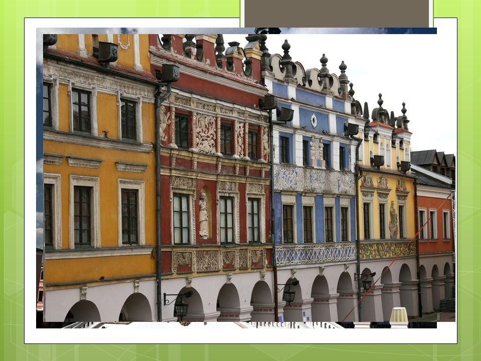 Główne miasta Zamość - renesansowe miasto - ośrodek turystyczny
