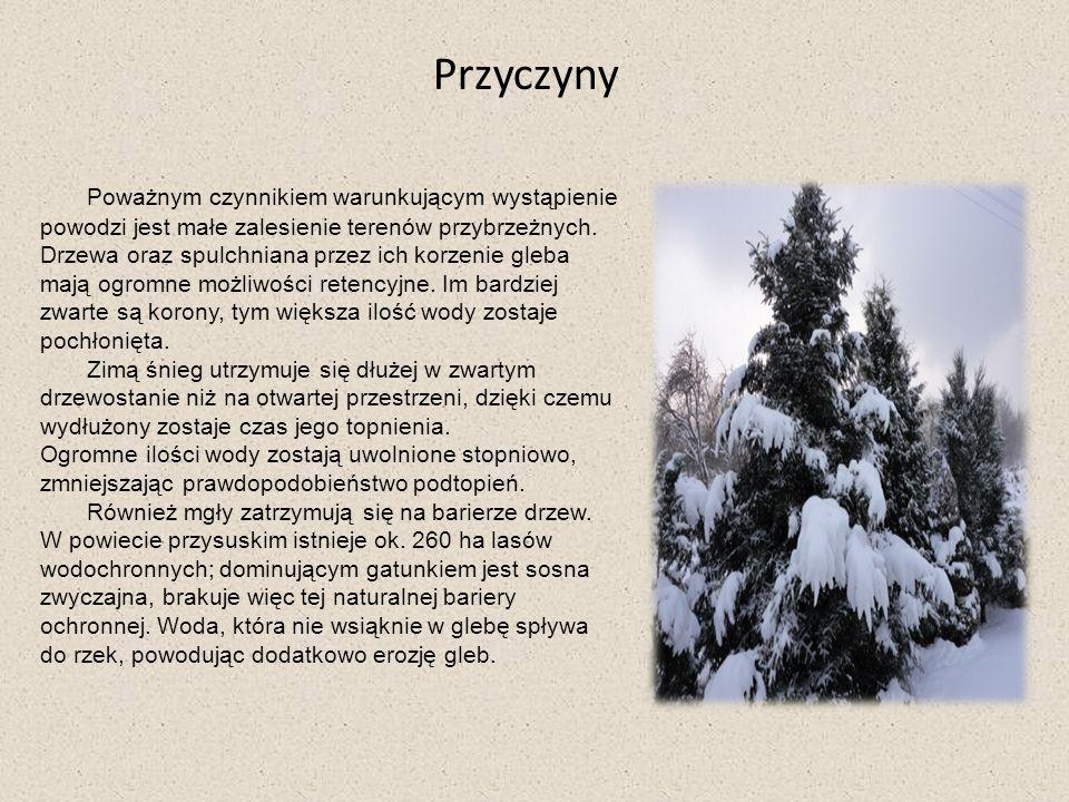 Klimat Powiat przysuski leży w dwóch regionach klimatycznych: wschodnio i zachodnio małopolskim.
