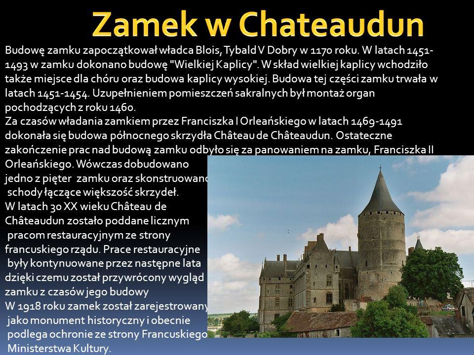 Zamek w Chambord stanowi jedno z największych dzieł architektury okresu renesansu, a jego sylwetka jest jedną z najlepiej rozpoznawalnych. Długość fas