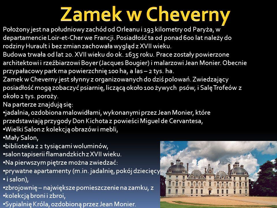 Zamek Chenonceau, Zamek Dam – jest jednym z tzw. zamków nad Loarą, usytuowanym w miejscowości Chenonceaux we Francji. Bywa często nazywany także Zamki