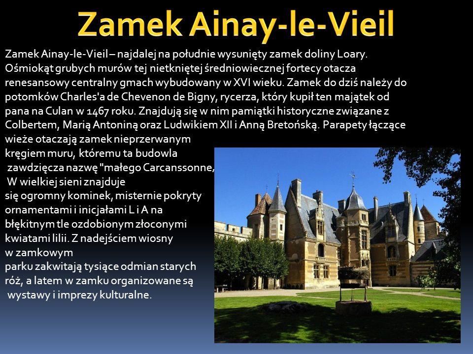 Zamek w Angers był od X wieku siedzibą książąt andegaweńskich, którzy zbudowali donżon i mury obronne oraz kaplicę na południowo-zachodniej krawędzi s