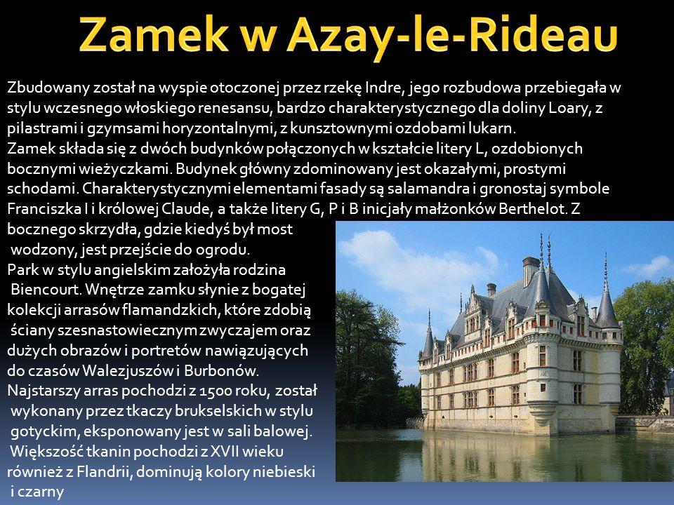 Zamek Ainay-le-Vieil – najdalej na południe wysunięty zamek doliny Loary.