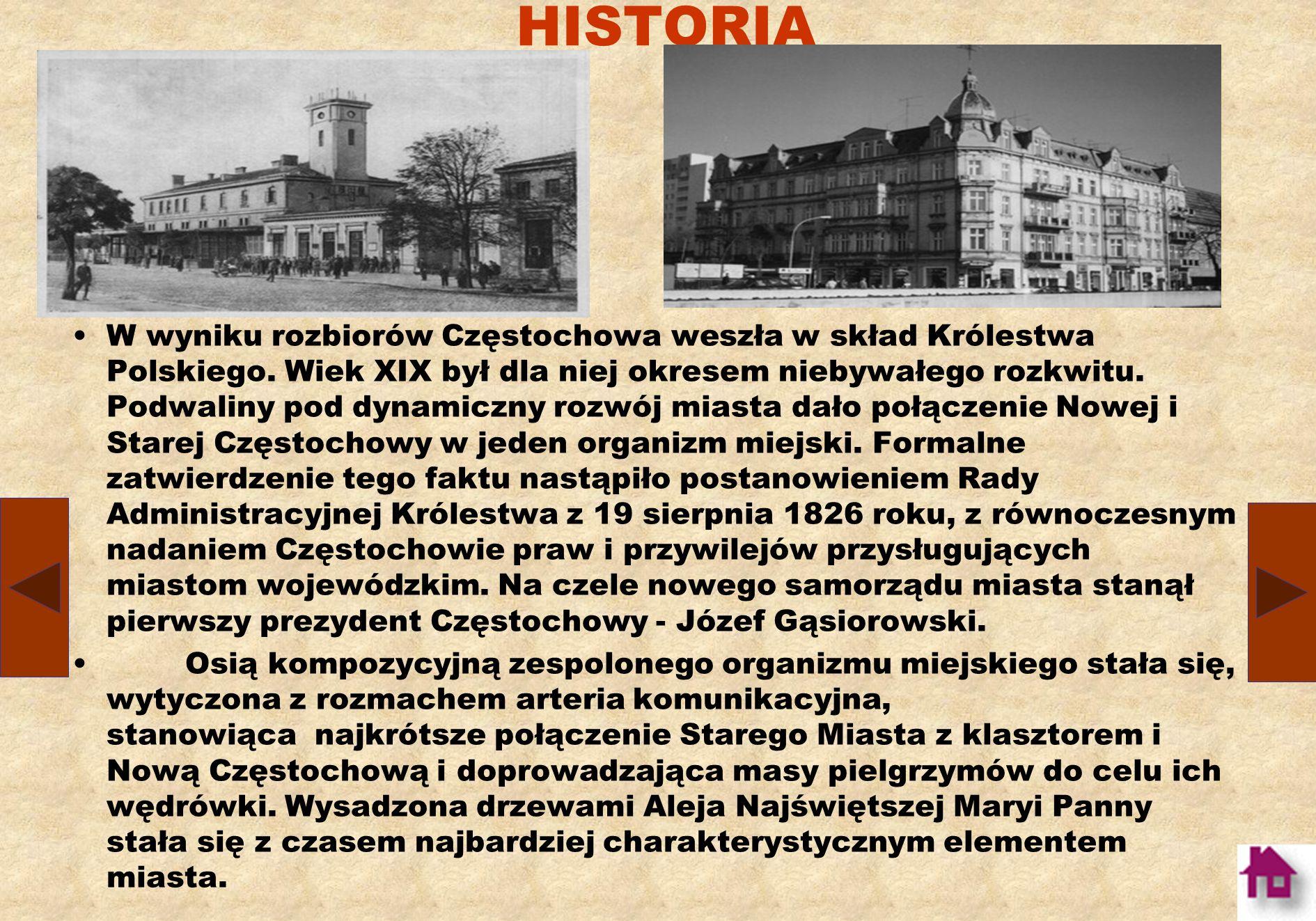 HISTORIA Z początkiem XVII wieku, twierdza Jasnogórska została włączona w system zamków obronnych, ciągnących się łańcuchem wzdłuż Jury Krakowsko – Częstochowskiej, a stanowiących osłonę przed zagrożeniem od strony Śląska.