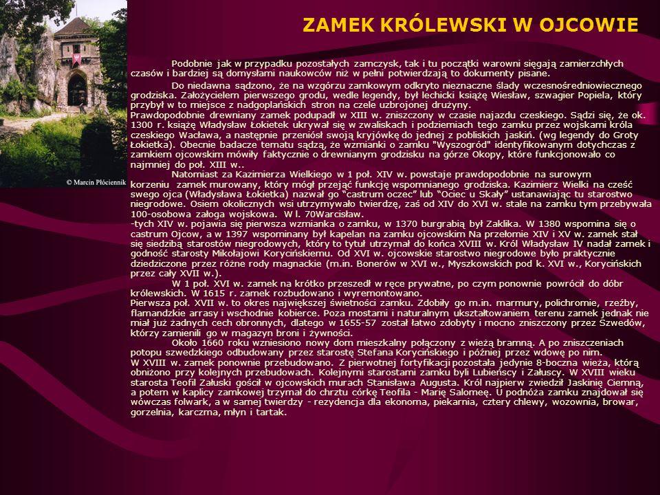 ZAMEK KRÓLEWSKI WAWEL W KRAKOWIE Właściwym budowniczym królewskiej rezydencji był Zygmunt I Stary, który na pocz.