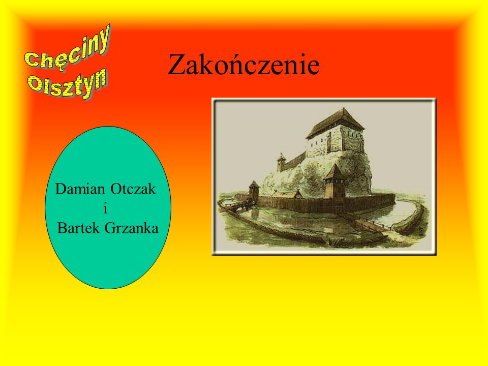 Olsztyn Budowę olsztyńskiej twierdzy przypisuje się powszechnie inicjatywie Kazimierza Wielkiego, choć wśród niektórych historyków panuje pogląd, że j
